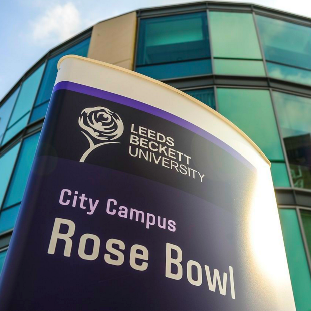 Leeds Beckett University campus