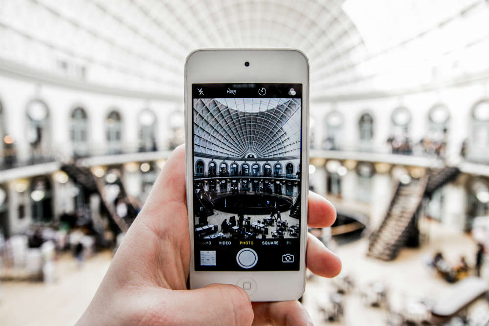 Instagram image of Leeds Corn Exchange