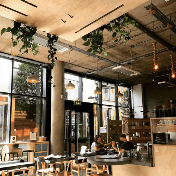 North Star Coffee Shop at Leeds Dock